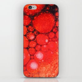 Blood Oil on Water Abstract iPhone Skin