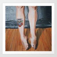 legs Art Prints featuring Legs. by xcannedx