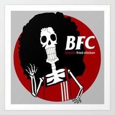 Brook's Fried Chicken Art Print
