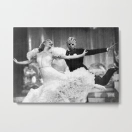 Jason Vorhees as Fred Astaire Metal Print