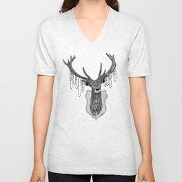 Ornate Deer Unisex V-Neck