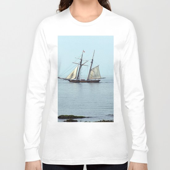 Tall ship Sails by Long Sleeve T-shirt