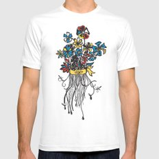 Bouquet - Skal Mens Fitted Tee White MEDIUM