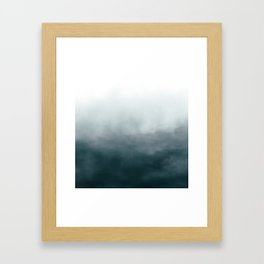 Ombre Framed Art Print