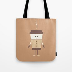 Cold Weather Coffee Tote Bag