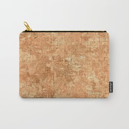 Peach Cobbler Oil Painting Color Accent Carry-All Pouch