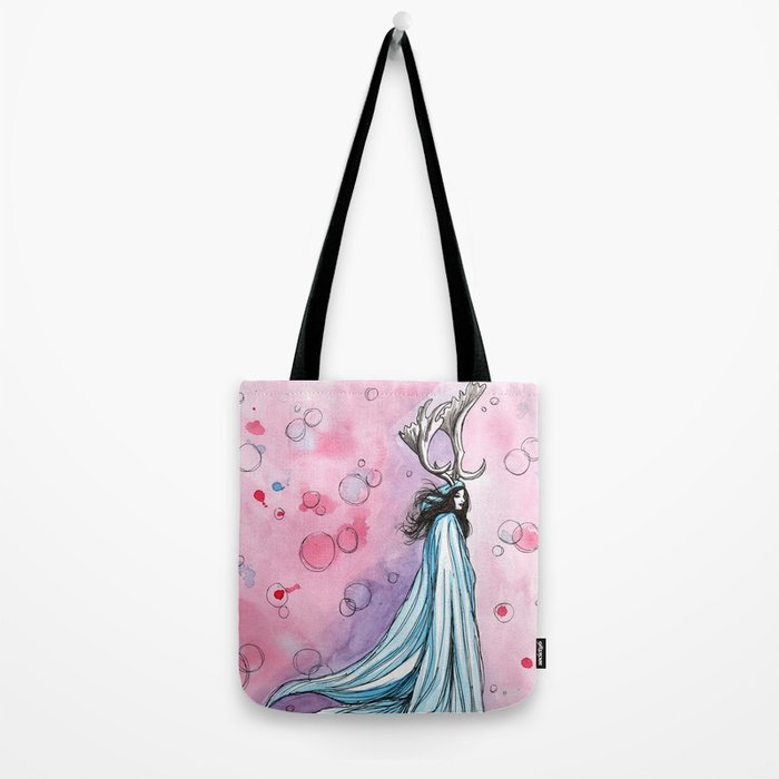 witchy bubbles Tote Bag