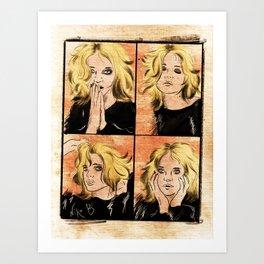 About a Girl Art Print