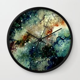 Cosmic Splendor Wall Clock