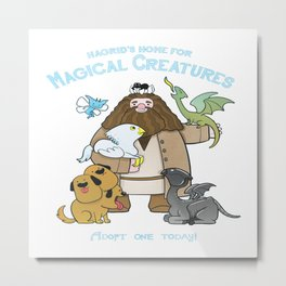Hagrid's Home for Magical Creatures Metal Print