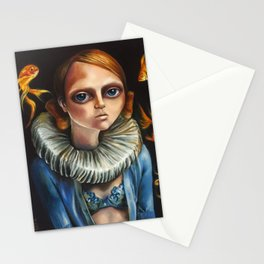 'High Diver' by Zelyss Stationery Cards