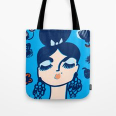 Diamonds and Pearls in Your Hair Tote Bag