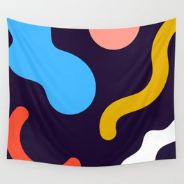 Deconstructed Tea Wall Tapestry