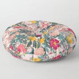 Summer Botanical Garden XI Floor Pillow