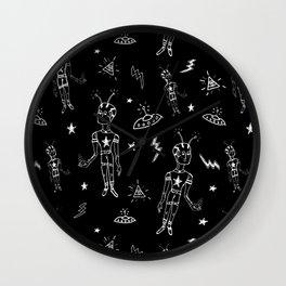 Cosmic boy pattern No 1 Wall Clock