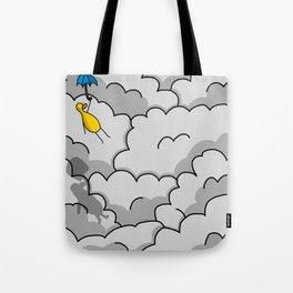 Umbrella Flying Tote Bag