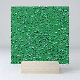 Shine on the green Mini Art Print