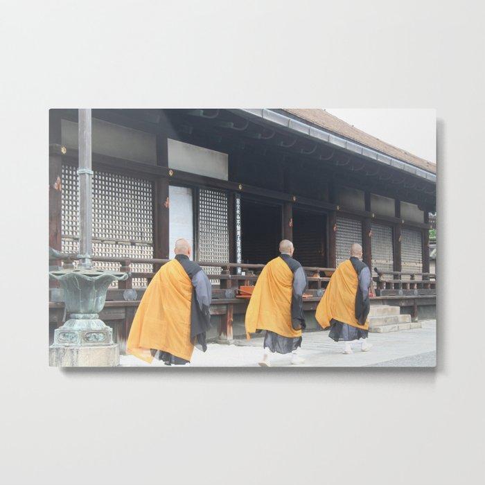 3 Monks Metal Print