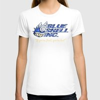 mario kart T-shirts featuring Mario Kart: Blue Shell Inc. by Macaluso