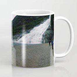 Mendenhall Glacier and Waterfall Coffee Mug