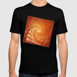 The Burning Eye Sees Spiral T-shirt