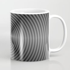 Spiral Quartered in Monochrome Coffee Mug
