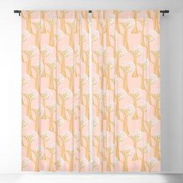 New Beginnings - Pink & Gold Blackout Curtain