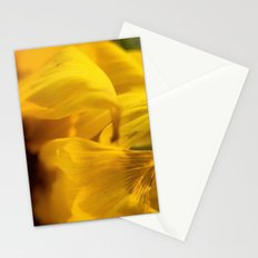 Sunflower Macro 2 Stationery Cards