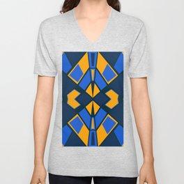 Geometric #732 Unisex V-Neck