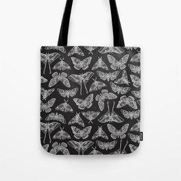 Lepidoptera Black & White Tote Bag