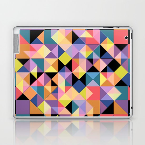Pixels Laptop & iPad Skin