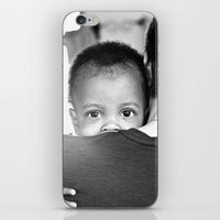 hug iPhone & iPod Skins featuring Hug by Dave Houldershaw