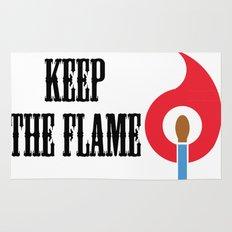 Keep the Flame Rug
