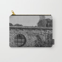 Round Window bw Carry-All Pouch