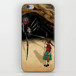 Consultation with the Spider Queen iPhone Skin
