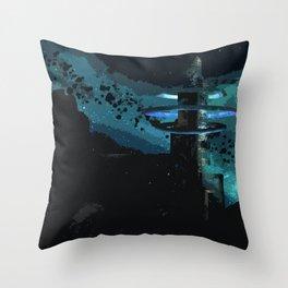 A Land Beyond Throw Pillow