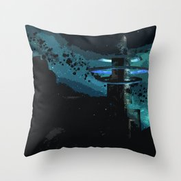 A Land Beyond Throw Pillow