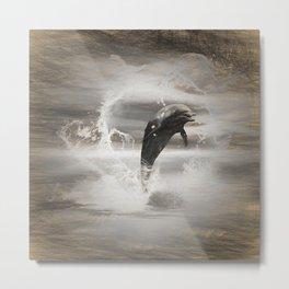Dolphin Metal Print