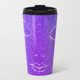 Mysterious Woman Travel Mug