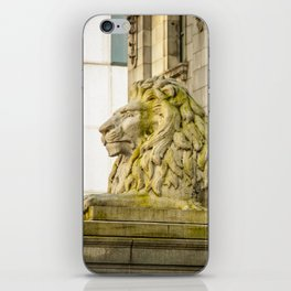 Vancouver Art Gallery Lion iPhone Skin