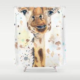 Giraffe Problems Shower Curtain