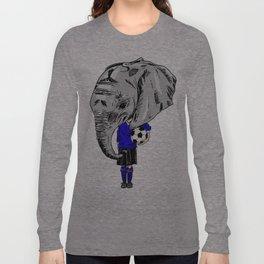 Footy Elephant Long Sleeve T-shirt
