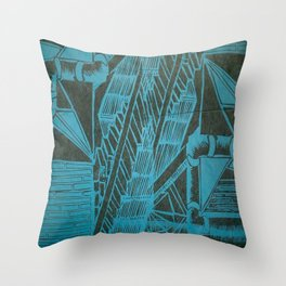 The Pattern of my Day Throw Pillow