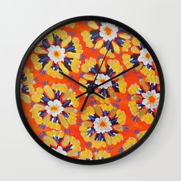 Dakota Rose Wall Clock