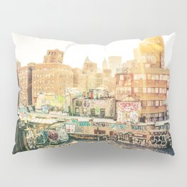 New York City Graffiti Pillow Sham