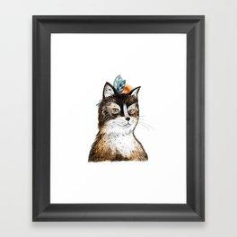 Furr-nando Framed Art Print