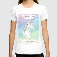 penis T-shirts featuring Unicorn, Penis horn by Bluh
