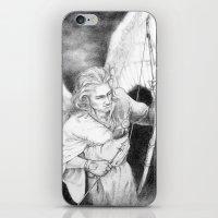 """archer iPhone & iPod Skins featuring Archer by Barbara """"Yuhime"""" Wyrowińska"""