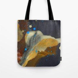 joelarmstrong_rust&gold_flower Tote Bag