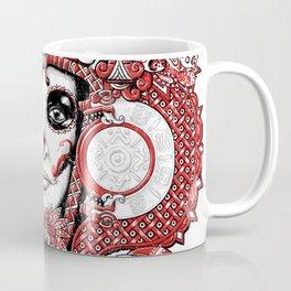Red Serpent Queen Coffee Mug